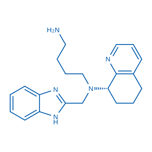 (S)-N1-((1H-Benzo[d]imidazol-2-yl)methyl)-N1-(5,6,7,8-tetrahydroquinolin-8-yl)butane-1,4-diamine