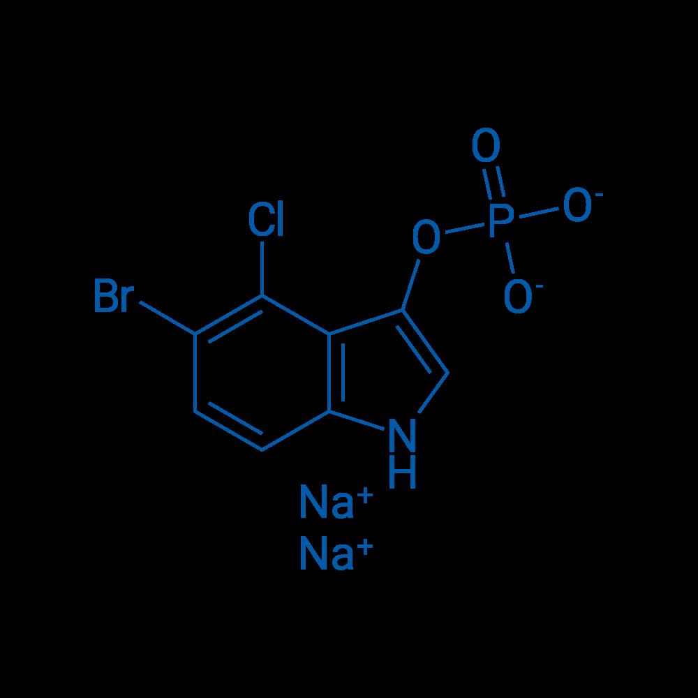 Sodium 5-bromo-4-chloro-1H-indol-3-yl phosphate