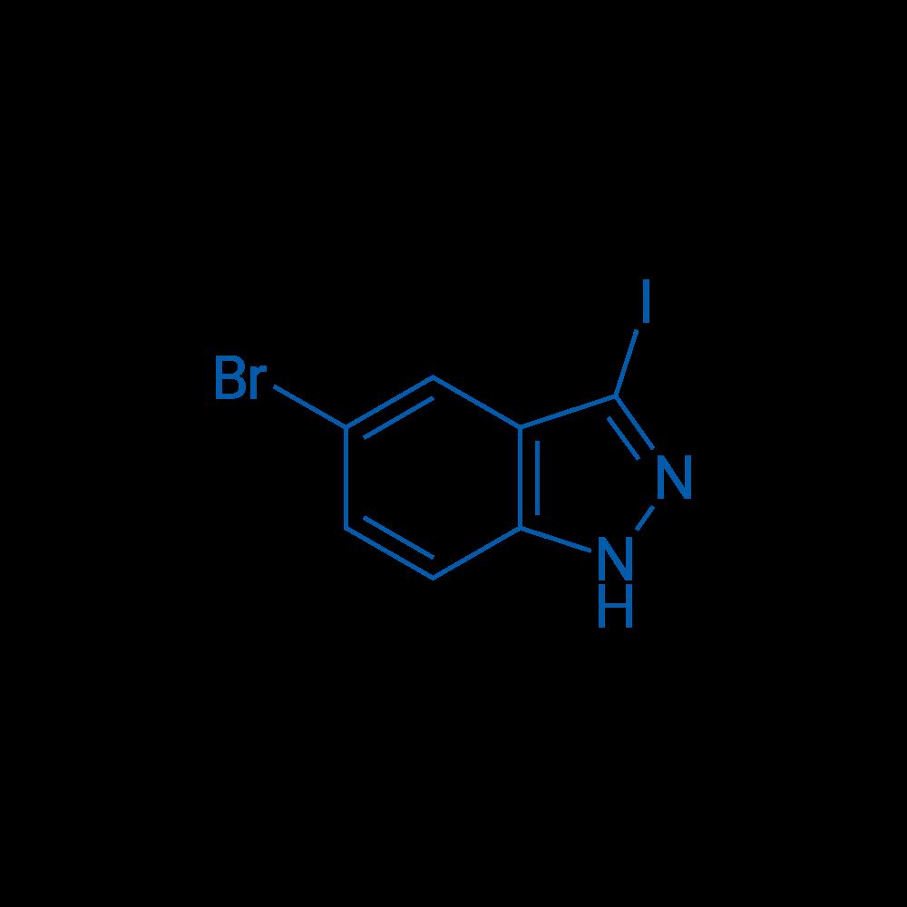 5-Bromo-3-iodo-1H-indazole