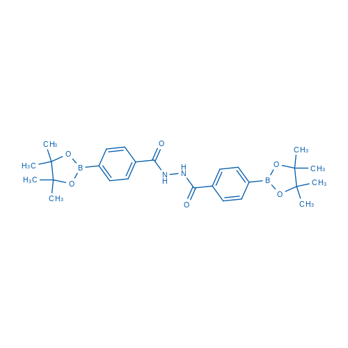 4-(4,4,5,5-Tetramethyl-1,3,2-dioxaborolan-2-yl)-N'-(4-(4,4,5,5-tetramethyl-1,3,2-dioxaborolan-2-yl)benzoyl)benzohydrazide