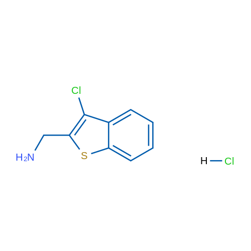 (3-Chlorobenzo[b]thiophen-2-yl)methanamine hydrochloride