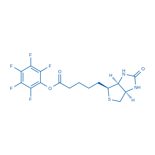 Perfluorophenyl 5-((3aS,4S,6aR)-2-oxohexahydro-1H-thieno[3,4-d]imidazol-4-yl)pentanoate