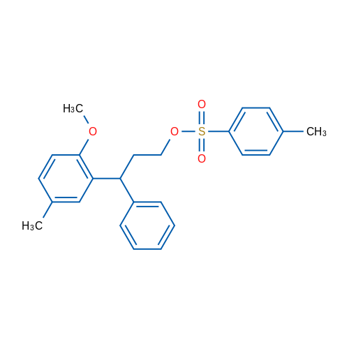 3-(2-Methoxy-5-methylphenyl)-3-phenylpropyl 4-methylbenzenesulfonate