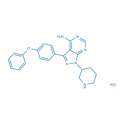 Btk Inhibitor 1 R-Enantiomer Hydrochloride