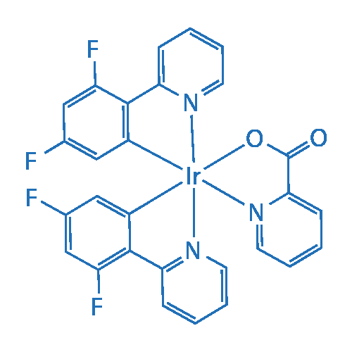 Bis[2-(4,6-difluorophenyl)pyridinato-C2,N](picolinato)iridium(III)
