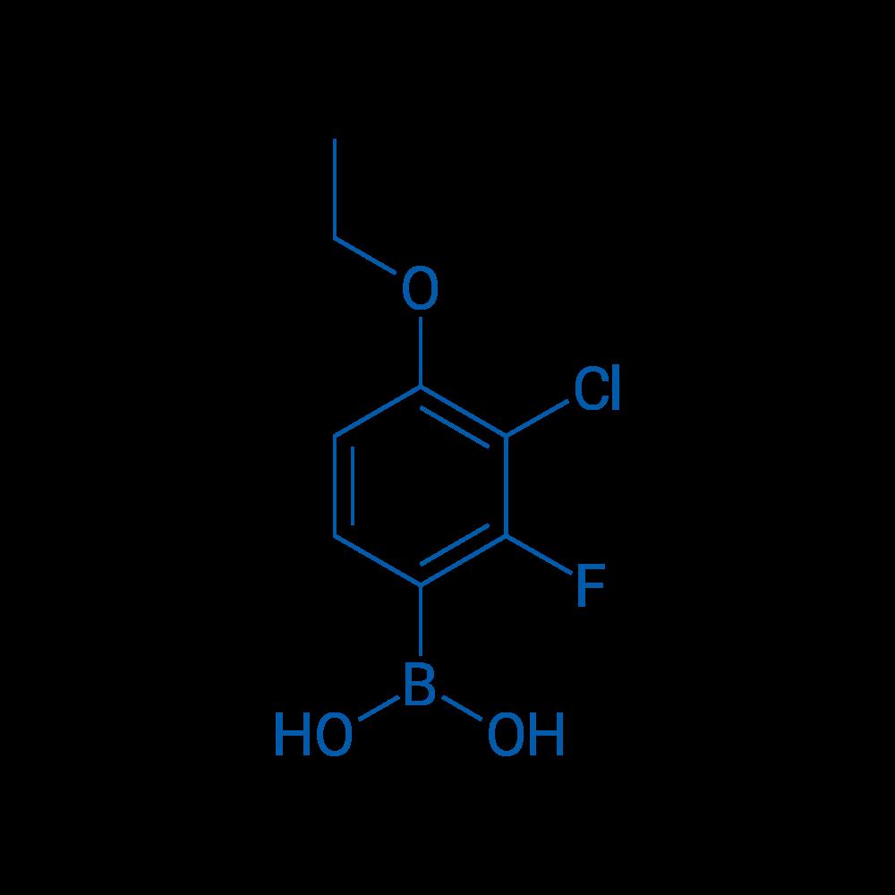 (3-Chloro-4-ethoxy-2-fluorophenyl)boronic acid
