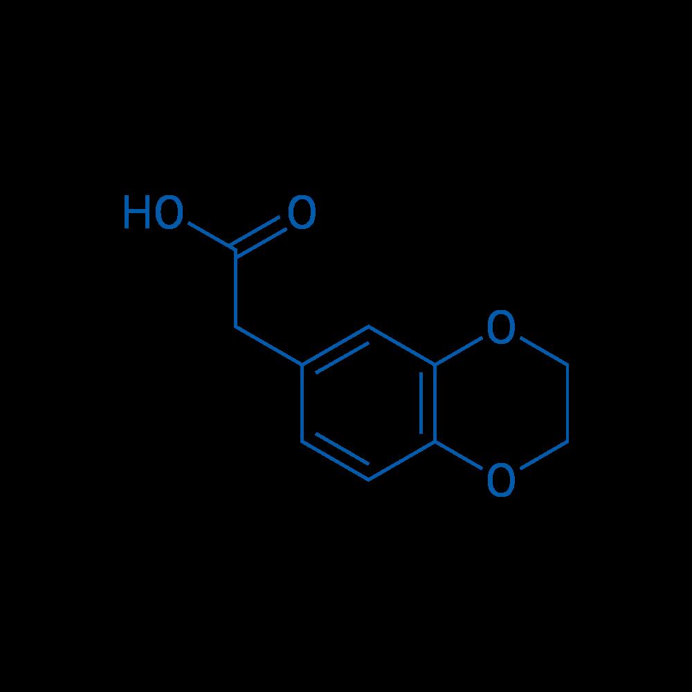2-(2,3-Dihydrobenzo[b][1,4]dioxin-6-yl)aceticacid