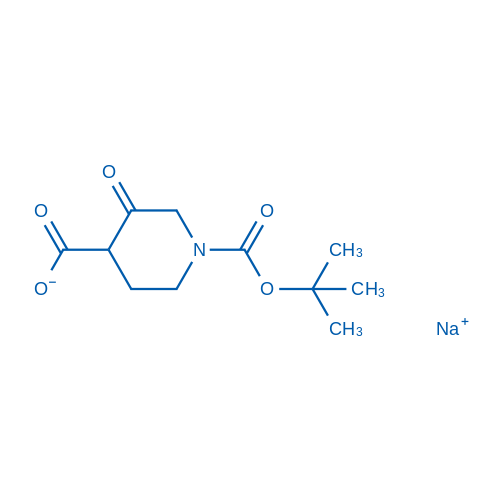 Sodium1-(tert-butoxycarbonyl)-3-oxopiperidine-4-carboxylate