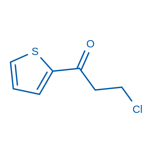 3-Chloro-1-(thiophen-2-yl)propan-1-one