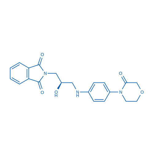 (R)-2-(2-Hydroxy-3-((4-(3-oxomorpholino)phenyl)amino)propyl)isoindoline-1,3-dione