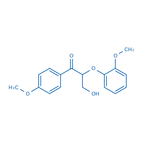 3-Hydroxy-2-(2-methoxyphenoxy)-1-(4-methoxyphenyl)propan-1-one