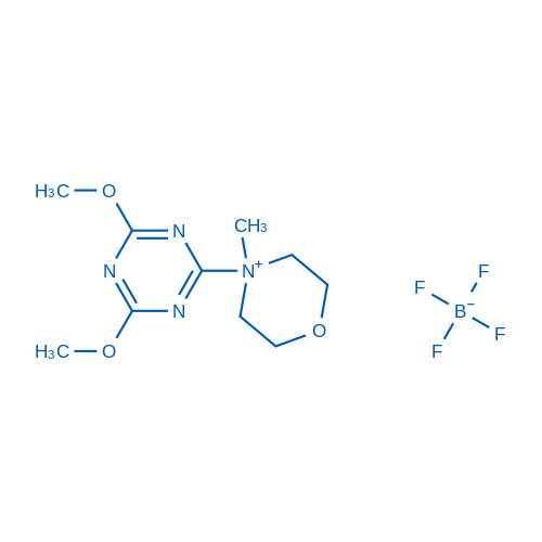 4-(4,6-Dimethoxy-1,3,5-triazin-2-yl)-4-methylmorpholin-4-ium tetrafluoroborate
