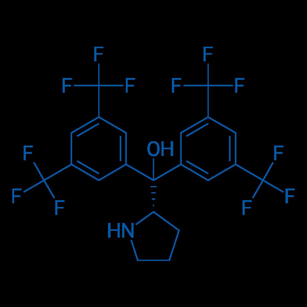 (S)-Bis(3,5-bis(trifluoromethyl)phenyl)(pyrrolidin-2-yl)methanol
