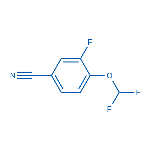 4-(Difluoromethoxy)-3-fluorobenzonitrile