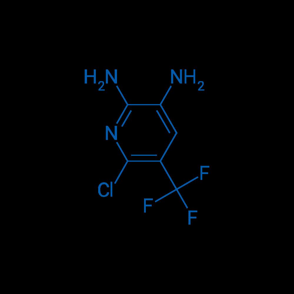 6-Chloro-5-(trifluoromethyl)pyridine-2,3-diamine
