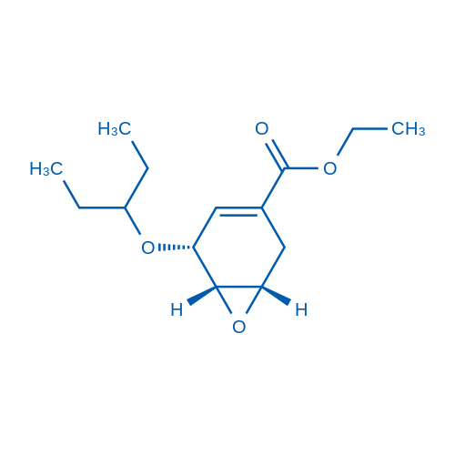 Ethyl (1S,5R,6S)-5-(pentan-3-yl-oxy)-7-oxa-bicyclo[4.1.0]hept-3-ene-3-carboxylate