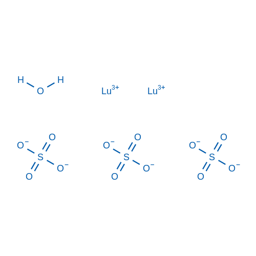 Lutetium(III) sulfate hydrate
