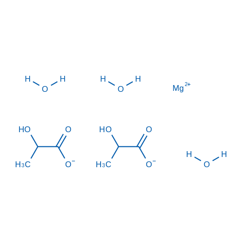 Magnesium 2-hydroxypropanoate trihydrate