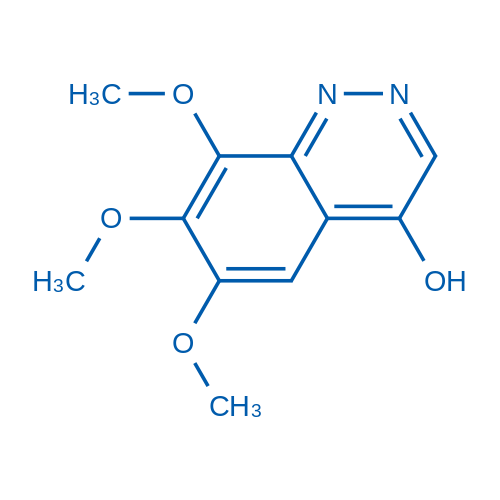 6,7,8-Trimethoxycinnolin-4-ol