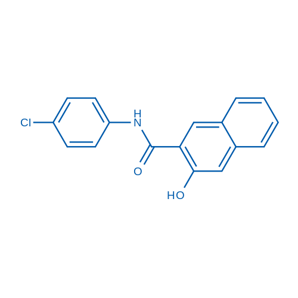 N-(4-Chlorophenyl)-3-hydroxy-2-naphthamide