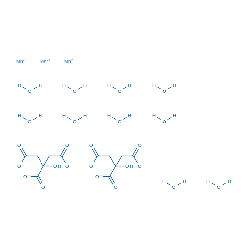 Manganese citrate decahydrate