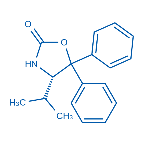 (S)-4-Isopropyl-5,5-diphenyloxazolidin-2-one