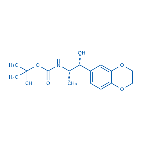 tert-Butyl ((1R,2S)-1-(2,3-dihydrobenzo[b][1,4]dioxin-6-yl)-1-hydroxypropan-2-yl)carbamate