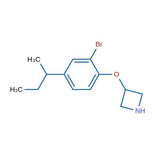 3-(2-Bromo-4-(sec-butyl)phenoxy)azetidine