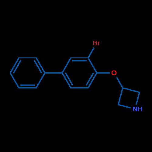 3-((3-Bromo-[1,1'-biphenyl]-4-yl)oxy)azetidine