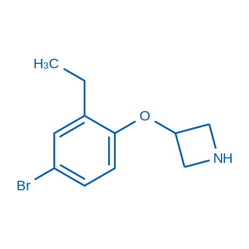 3-(4-Bromo-2-ethylphenoxy)azetidine