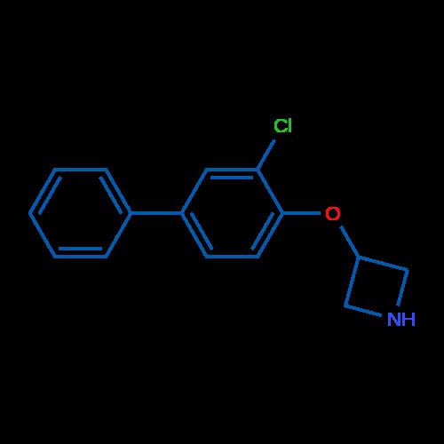3-((3-Chloro-[1,1'-biphenyl]-4-yl)oxy)azetidine