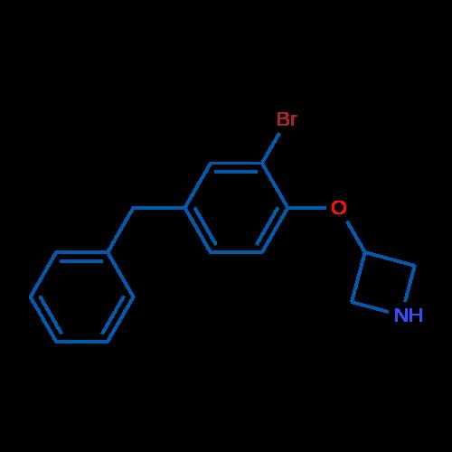 3-(4-Benzyl-2-bromophenoxy)azetidine
