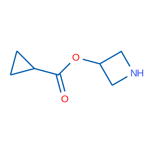 Azetidin-3-yl cyclopropanecarboxylate
