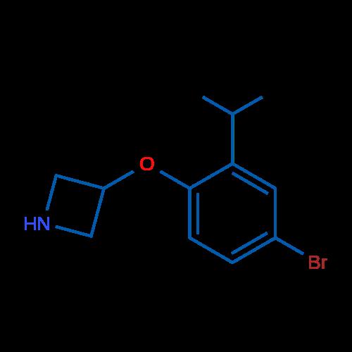 3-(4-Bromo-2-isopropylphenoxy)azetidine