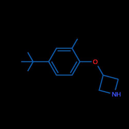 3-(4-(tert-Butyl)-2-methylphenoxy)azetidine