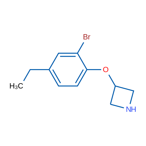 3-(2-Bromo-4-ethylphenoxy)azetidine