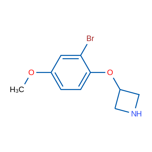 3-(2-Bromo-4-methoxyphenoxy)azetidine