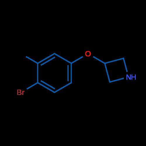 3-(4-Bromo-3-methylphenoxy)azetidine