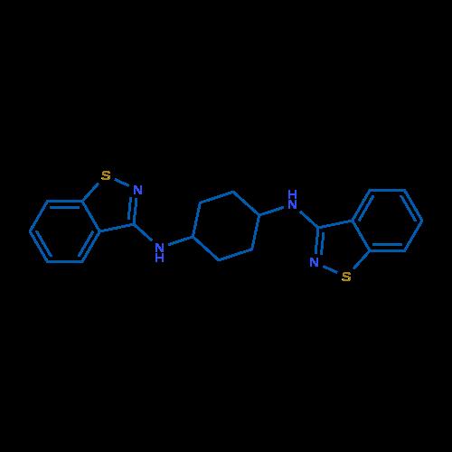 N1,N4-Bis(benzo[d]isothiazol-3-yl)cyclohexane-1,4-diamine