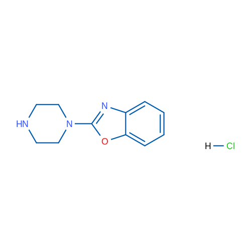2-(Piperazin-1-yl)benzo[d]oxazole hydrochloride