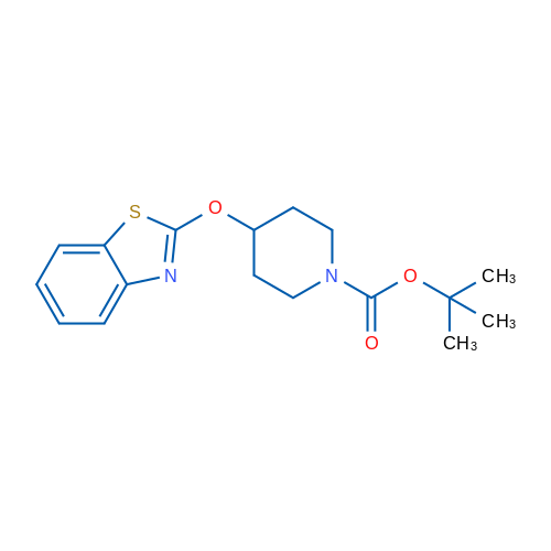 tert-Butyl 4-(benzo[d]thiazol-2-yloxy)piperidine-1-carboxylate