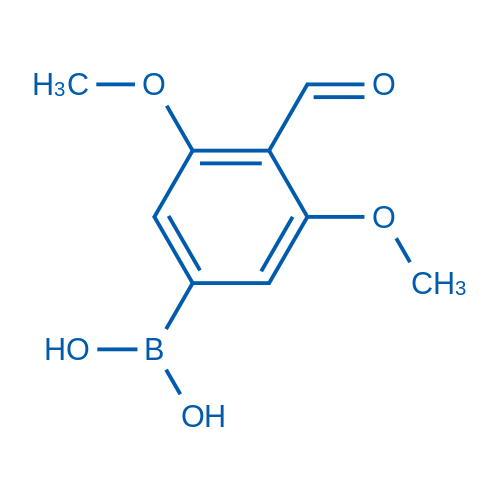 (4-Formyl-3,5-dimethoxyphenyl)boronic acid