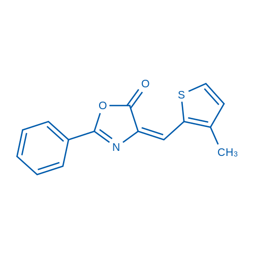 4-((3-Methylthiophen-2-yl)methylene)-2-phenyloxazol-5(4H)-one