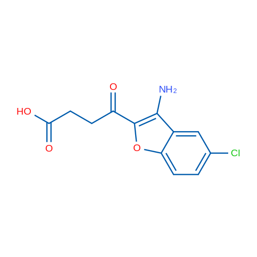 4-(3-Amino-5-chlorobenzofuran-2-yl)-4-oxobutanoic acid
