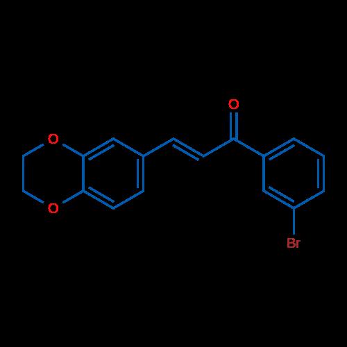 1-(3-Bromophenyl)-3-(2,3-dihydrobenzo[b][1,4]dioxin-6-yl)prop-2-en-1-one