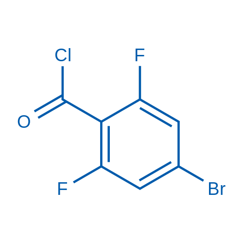 4-Bromo-2,6-difluorobenzoyl chloride