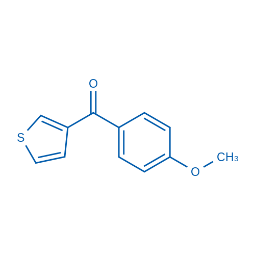 3-(4-Methoxybenzoyl)thiophene