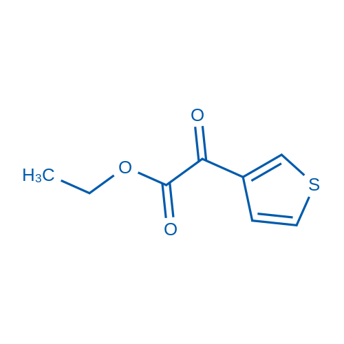 Ethyl 2-oxo-2-(thiophen-3-yl)acetate