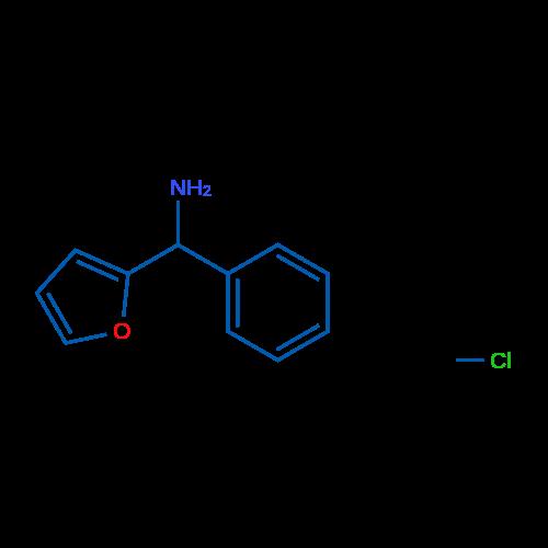 Furan-2-yl(phenyl)methanamine hydrochloride