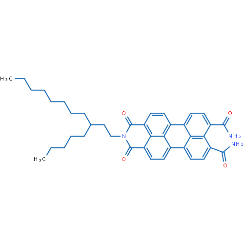 1,3-Dioxo-2-(3-pentylundecyl)-2,3-dihydro-1H-benzo[5,10]anthra[2,1,9-def]isoquinoline-8,9-dicarboxamide